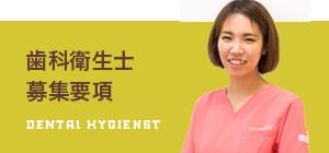 歯科衛生士募集要項 DENTAL HYGIENST